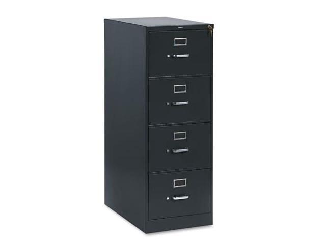 "HON314CPS Vertical File Cabinet, 4Drw W/Lock, Lgl, 26-1/2"" Deep, CCL"