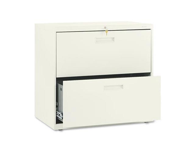 """2-Drawer Lateral Filing Cabinet, 30""""x19-1/4""""x28-3/8"""", Putty HON572LL"""