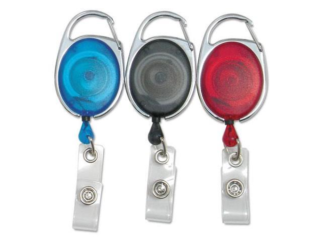 Clip ID Badge Reels Oval 30