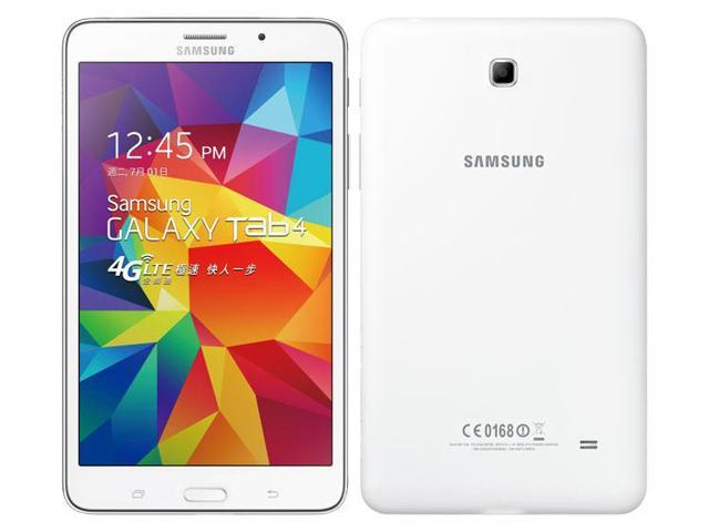samsung galaxy tab 4 7 0 4g lte sm t2397 white 8gb. Black Bedroom Furniture Sets. Home Design Ideas