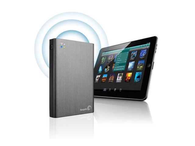 Seagate Wireless Plus STCK1000100 1TB External Mobile Hard Disk Drive