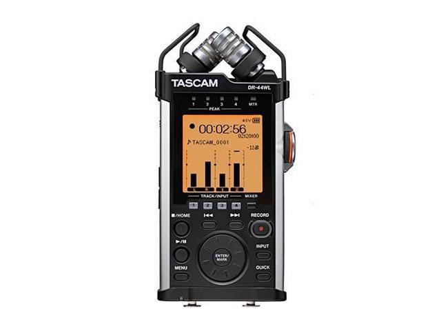 Tascam DR-44WL 4-Channels Handheld Audio Recorder with Wi-Fi
