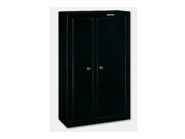 Stack on 10 gun double door steel security cabinet black for 10 gun double door steel security cabinet