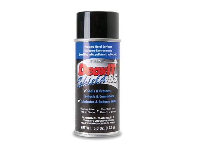Hosa Technology CAIG DeoxIT Shield Contact Protector, 5% Spray, 5oz #S5S-6
