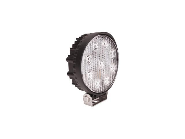 Westin 09-12006B LED Work Light; 5.0 in.; Round; Flood; Incl. Light/Mounting Hardware;