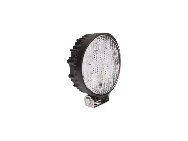 Westin 09-12006A LED Work Light; 5.0 in.; Round; Spot; Incl. Light/Mounting Hardware;