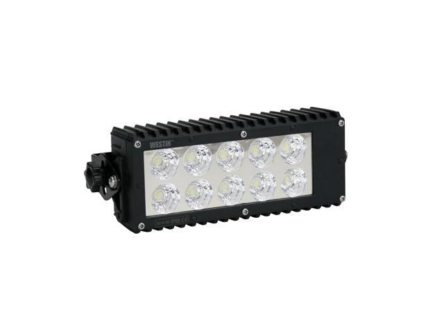 Westin 09-12214-30F LED Work Light Bar; 7.5 in.; Flood; Incl. Light/Mounting Hardware;