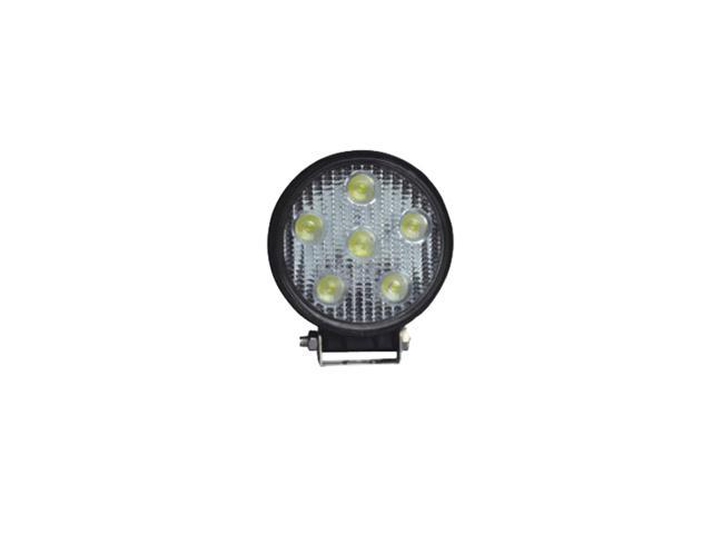 Westin 09-12005A LED Work Light; 4.5 in.; Round; Spot; Incl. Light/Mounting Hardware;