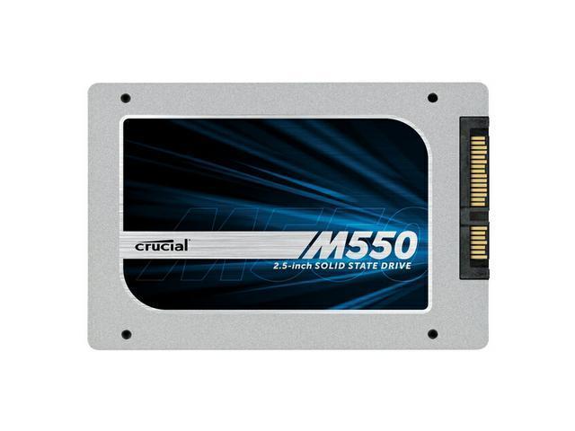 """Crucial M550 CT1024M550SSD1 2.5"""" 1TB SATA 6Gb/s MLC Internal Solid State Drive (SSD)"""
