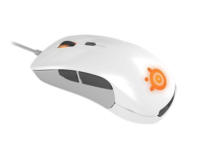 SteelSeries Rival Optical Gaming Mouse - White