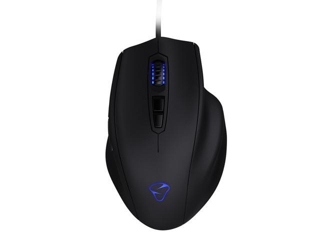 Mionix Naos 3200 Black 7 Buttons 1 x Wheel USB 2.0 Wired LED-optical 3200 dpi LED Gaming Mouse