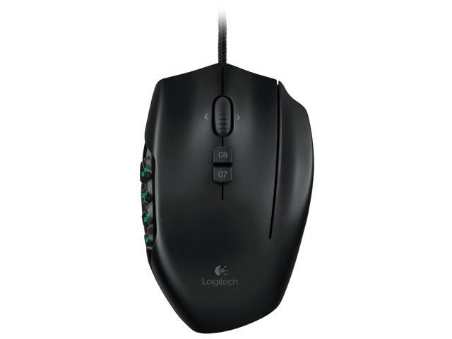 Logitech G600MMO Gaming Mouse Black - Open Box