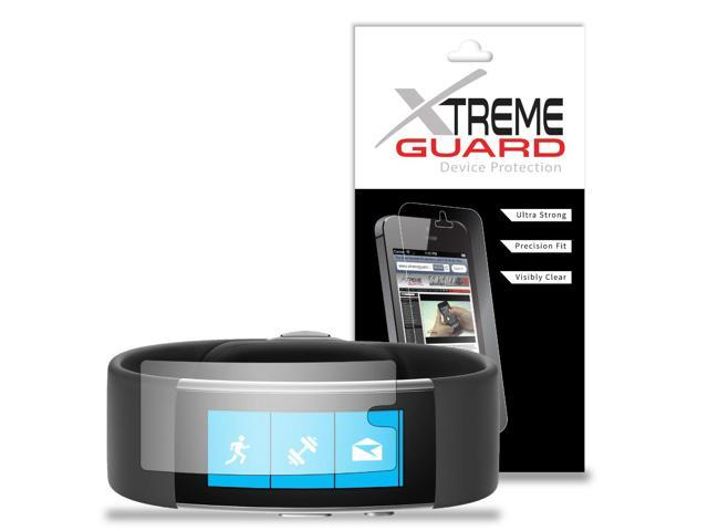 Clear Premium XtremeGuard™ Screen Protector Shield Cover for Microsoft Band 2