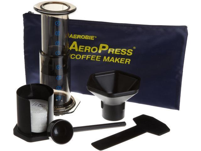 Aerobie Aeropress Coffee Maker Black : Aerobie AeroPress Coffee Maker with Tote Bag - Newegg.com
