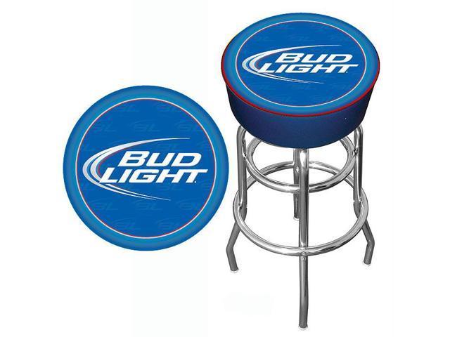 bud light blue bar stool. Black Bedroom Furniture Sets. Home Design Ideas