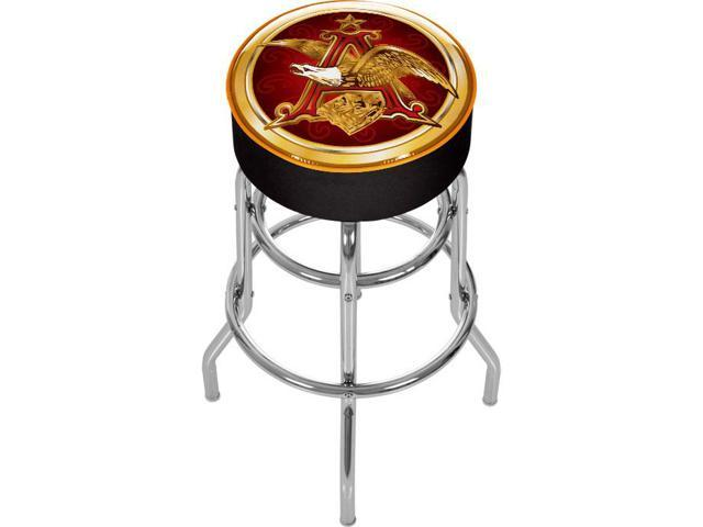 Budweiser A Amp Eagle Padded Bar Stool Made In Usa