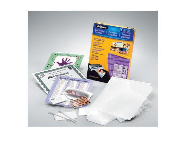LAMINATING POUCHES ASST 3MIL 130PK,DDS MUST BE ORDERED IN MULTIPLES OF CASE QTY=