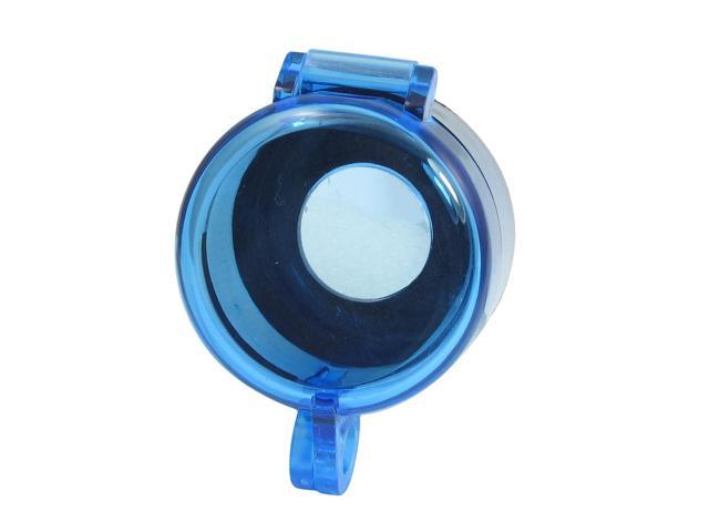 Unique Bargains Blue Clear 22mm Protective Cover Guard for Round Push Button Switch