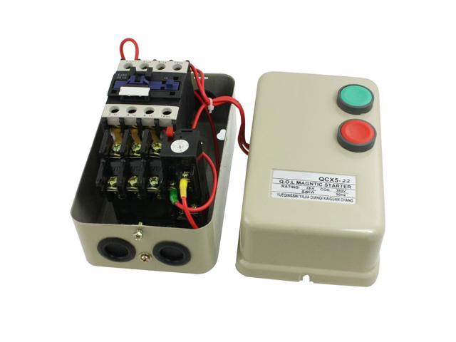 380v Coil 5 5 Kw 7 5 Hp 13a Three Phase Motor Control