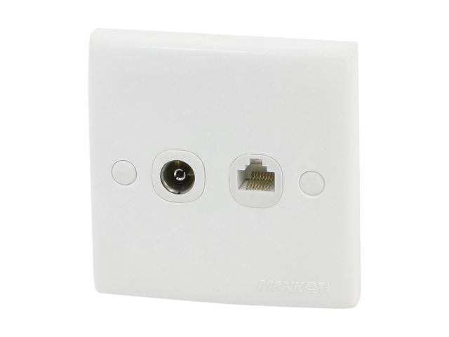 how to connect a tv aerial wall socket