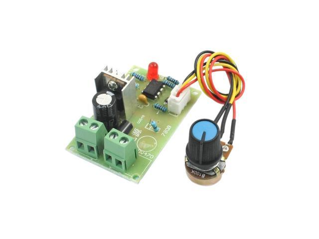 Dc 6 16v 100w B100k Potentiometer Rotary Adjustable Pwm