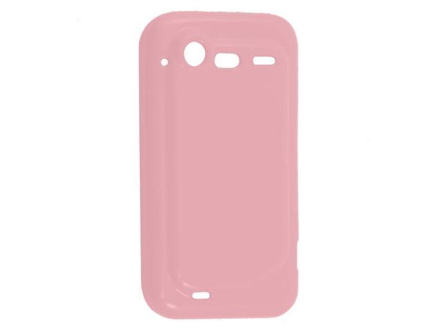 Pink Soft Plastic Protector Cover for HTC Incredible S G11 S710e Iardi