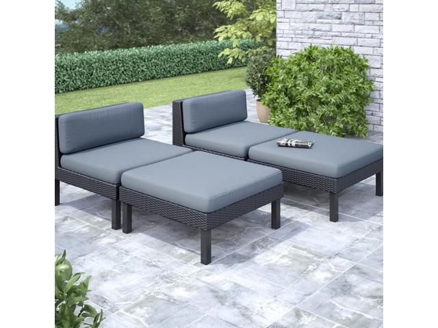 CorLiving PPO-806-Z Oakland 4 pc Lounger Patio Set