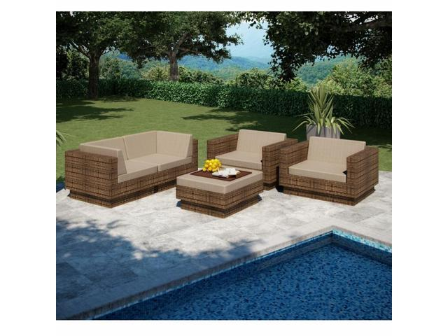 Sonax Z-273-TPP Park Terrace 5 Piece Sofa Patio Set