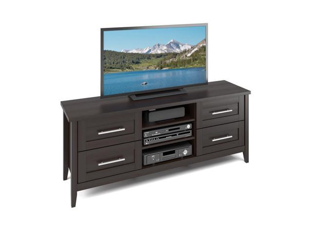 CorLiving TJK-681-B Jackson TV Bench in Espresso Finish