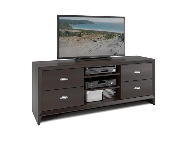 CorLiving TEK-583-B Kansas TV Bench in Espresso Finish
