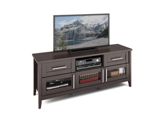 CorLiving TJK-678-B Jackson TV Bench in Modern Wenge Finish