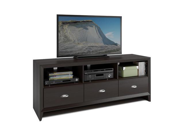 CorLiving TEK-582-B Kansas TV Bench in Espresso Finish