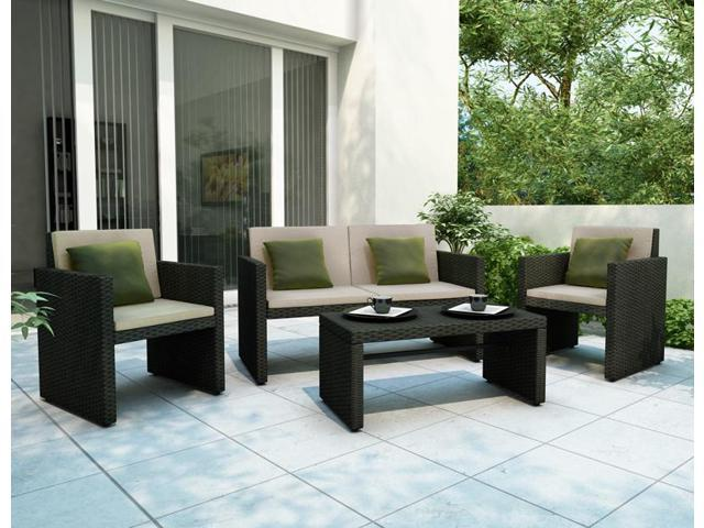 Creekside 4 Piece Patio Lounge Set