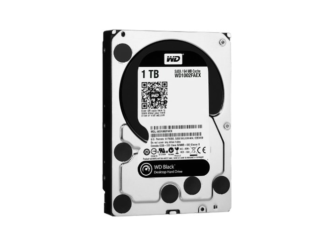 Western Digital WD1002FAEX Caviar Black 1 TB SATA III 7200 RPM 64 MB Cache Internal Desktop 3.5