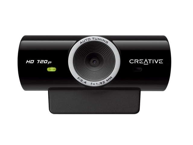 Creative 73VF077000000 Live!Cam Sync HD 720p 1280x720 USB2.0 Webcam