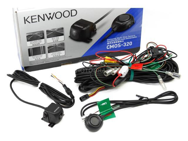Kenwood CMOS -3Universal rear-view camera with multiple view