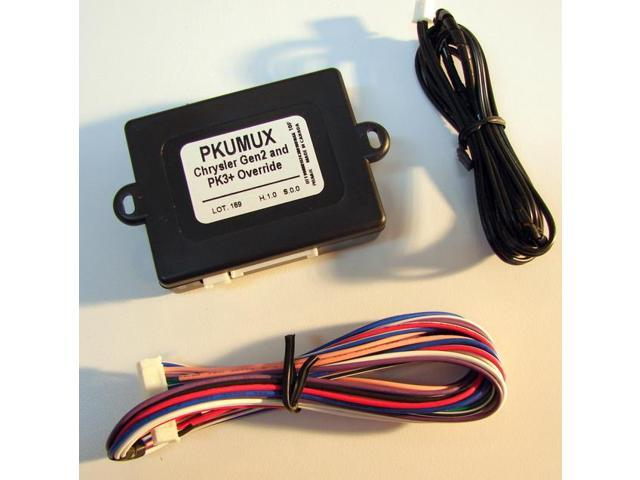 Chrysler Gen2 & GM PK3+ Transponder Bypass with MUX Output