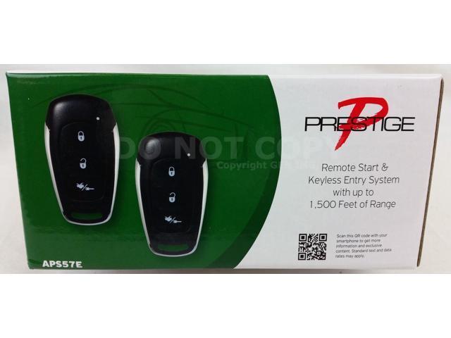 Audiovox Aps57e Prestige Remote Car Auto Start  U0026 Keyless