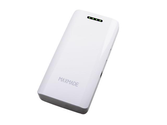 Po4 Charge: MAXMADE 11000mAh Dual USB Power Bank/Car Jump Starter