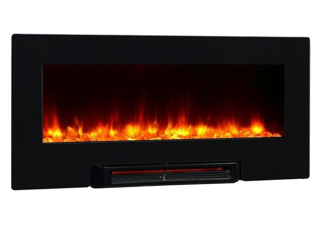 Puraflame Provo 36 Inch Remote Control Portable Wall Mounted Far Infrared Flat Panel Electric