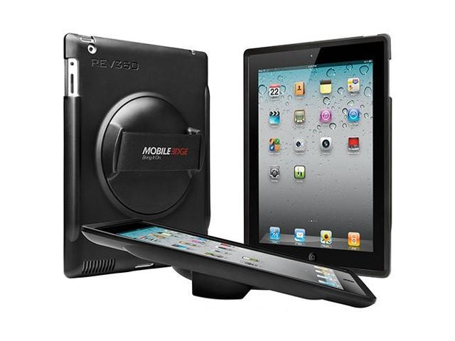 Mobile Edge Rev360 Rotating iPad Case - Smart Cover Version for Gen 2, 3 & 4 (ME-REVS1)
