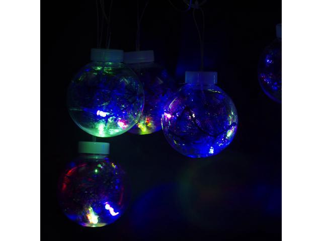 String Lights Vistaprint : GBB 6 Crystal Ball String Light 110V for Outdoor Garden Fence Patio Christmas Party Wedding ...