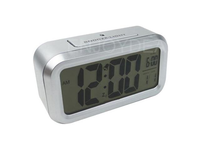 Digital LED Blue Backlight Alarm Clock BIG display NEW