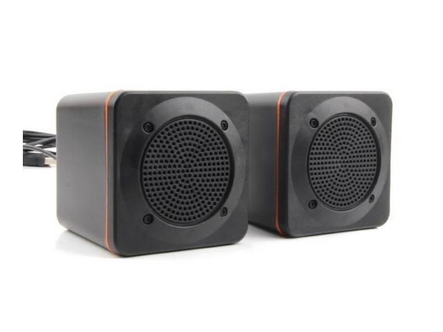 Small notebook computer desktop small stereo speakers 2.0 USB speaker