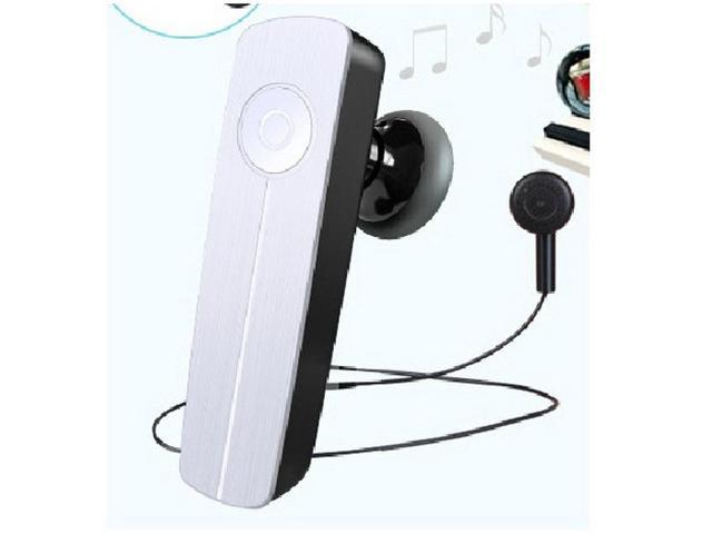 mini headphone wireless handsfree stereo Bluetooth 4.0 Headset Ear hook Earphone-white