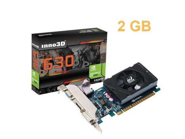 NEW INNO3D NVIDIA Geforce GT 630 2GB 128 bit PCI Express Video Graphics Card HMDI