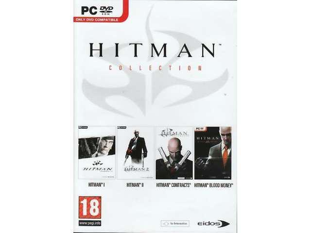HITMAN COLLECTION 4 Games (Including Blood Money) for PC SEALED