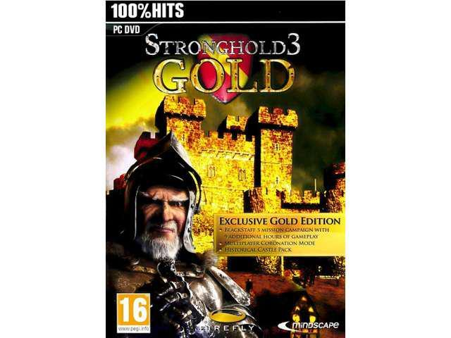 STRONGHOLD 3 GOLD EDITION for PC XP/VISTA/7 SEALED