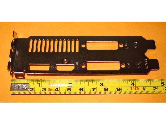 Radeon R9 290X 290 280X 280 Video Graphics Card Dual Slot Expansion Slot Bracket