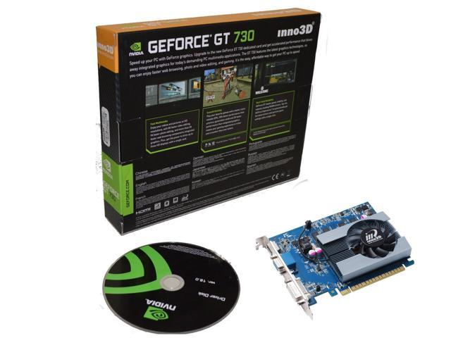 NVIDIA Geforce GT 730 2GB 128 bit DDR3 PCI Express Video Graphics Card HMDI shipping from US